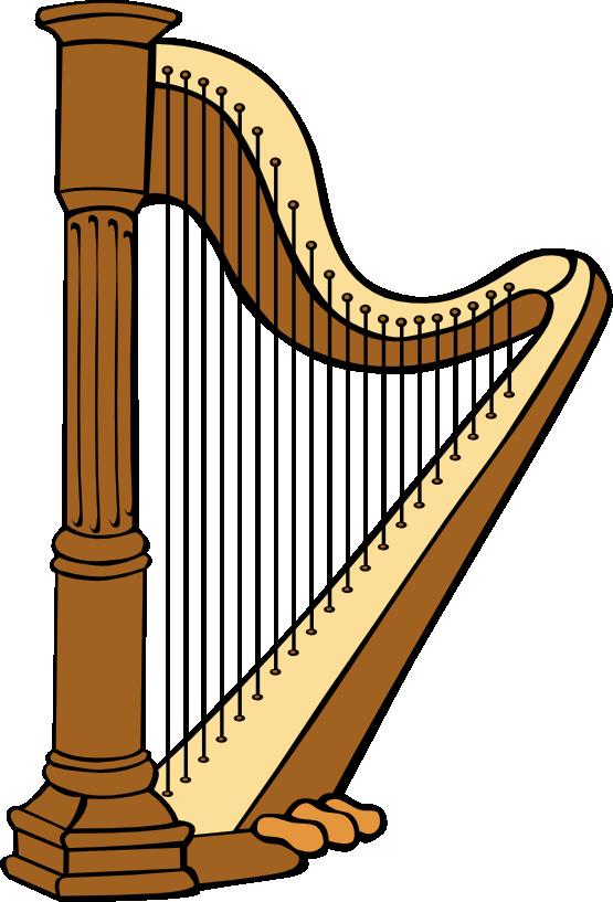 Greek clipart lyre. Harp panda free images