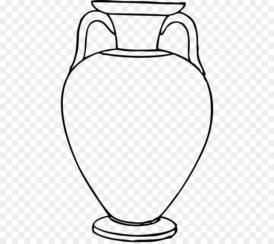 White background drawing product. Greek clipart pottery greek