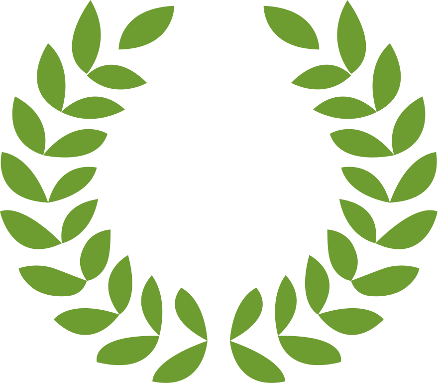 Balagtas leaf easy origami. Greek clipart wreath