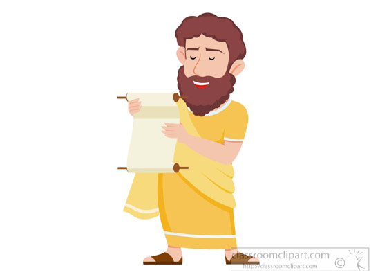 Ancient greece priest classroom. Greek clipart