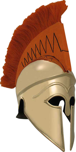 Greek helmet png. Psd official psds share