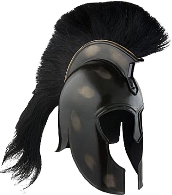 Greek helmet png. Research time mr spartan