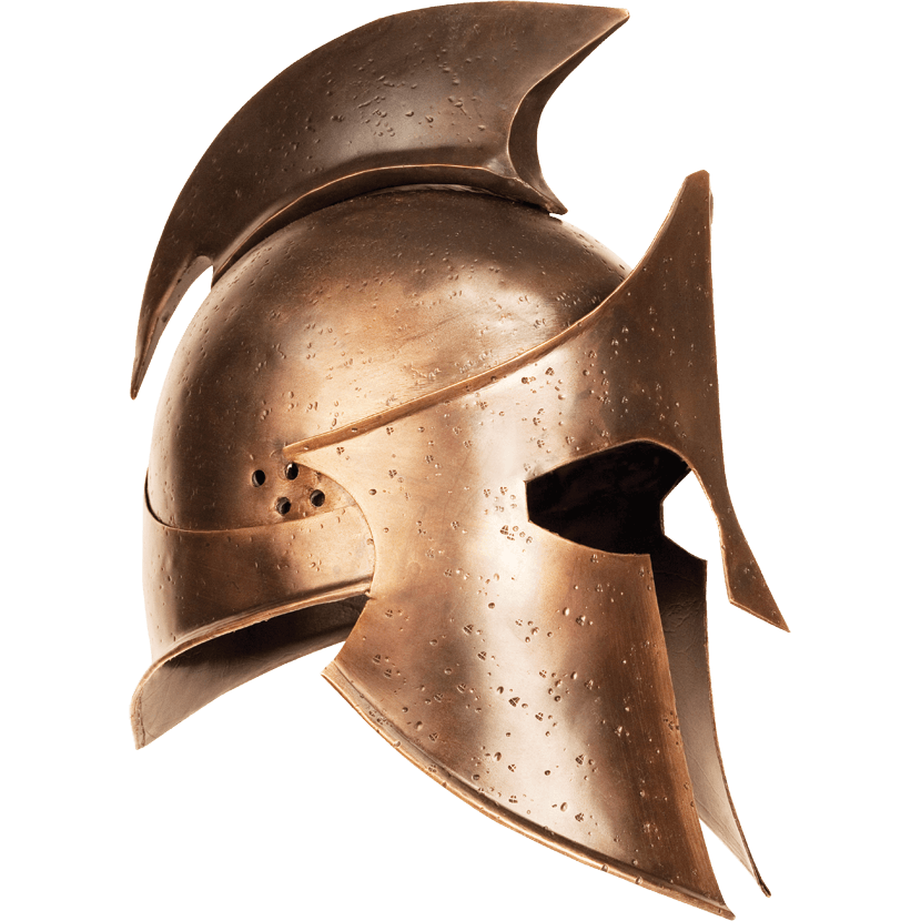 rise of an. Greek helmet png