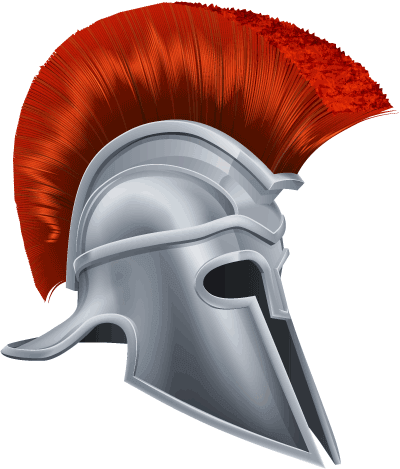 Ancient greece for kids. Greek helmet png