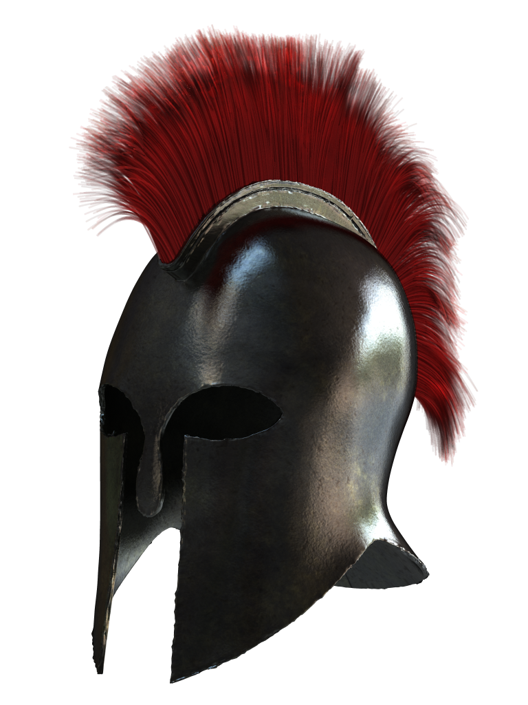By lagoderre on deviantart. Greek helmet png