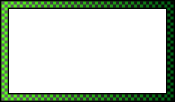 Green border png. Dark encode clipart to