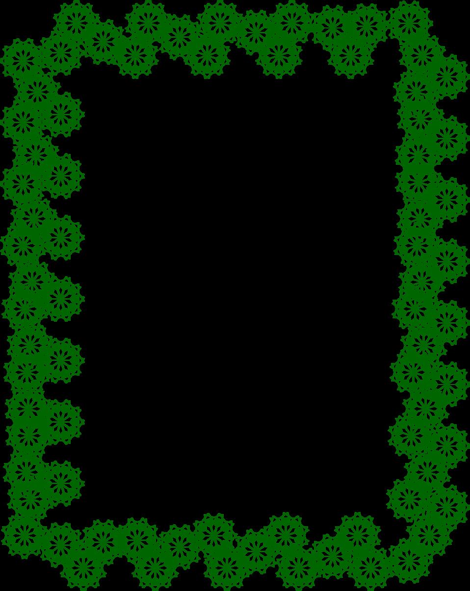 Frame images transparent free. Green border png