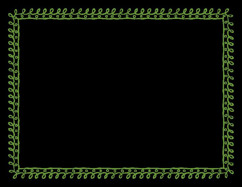 Green border png. Frame free download mart