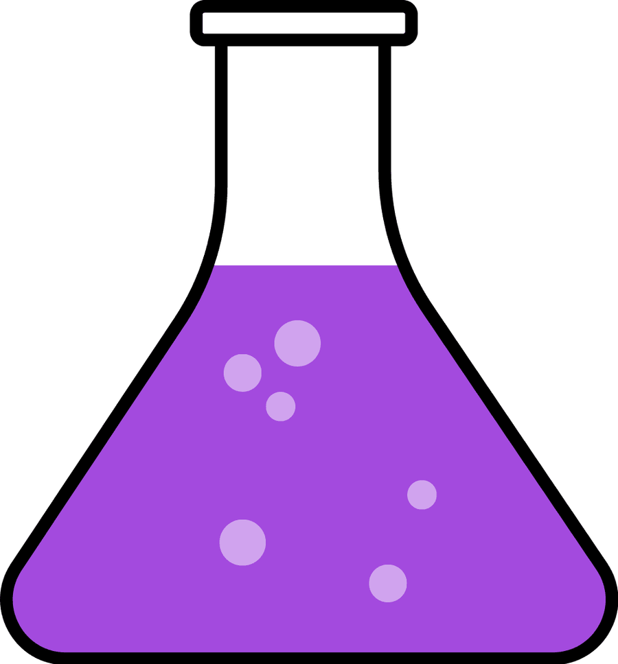 Science hd letters clip. Green clipart beaker