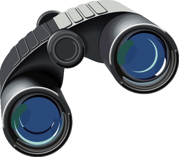 Ii clip art at. Vision clipart binoculars