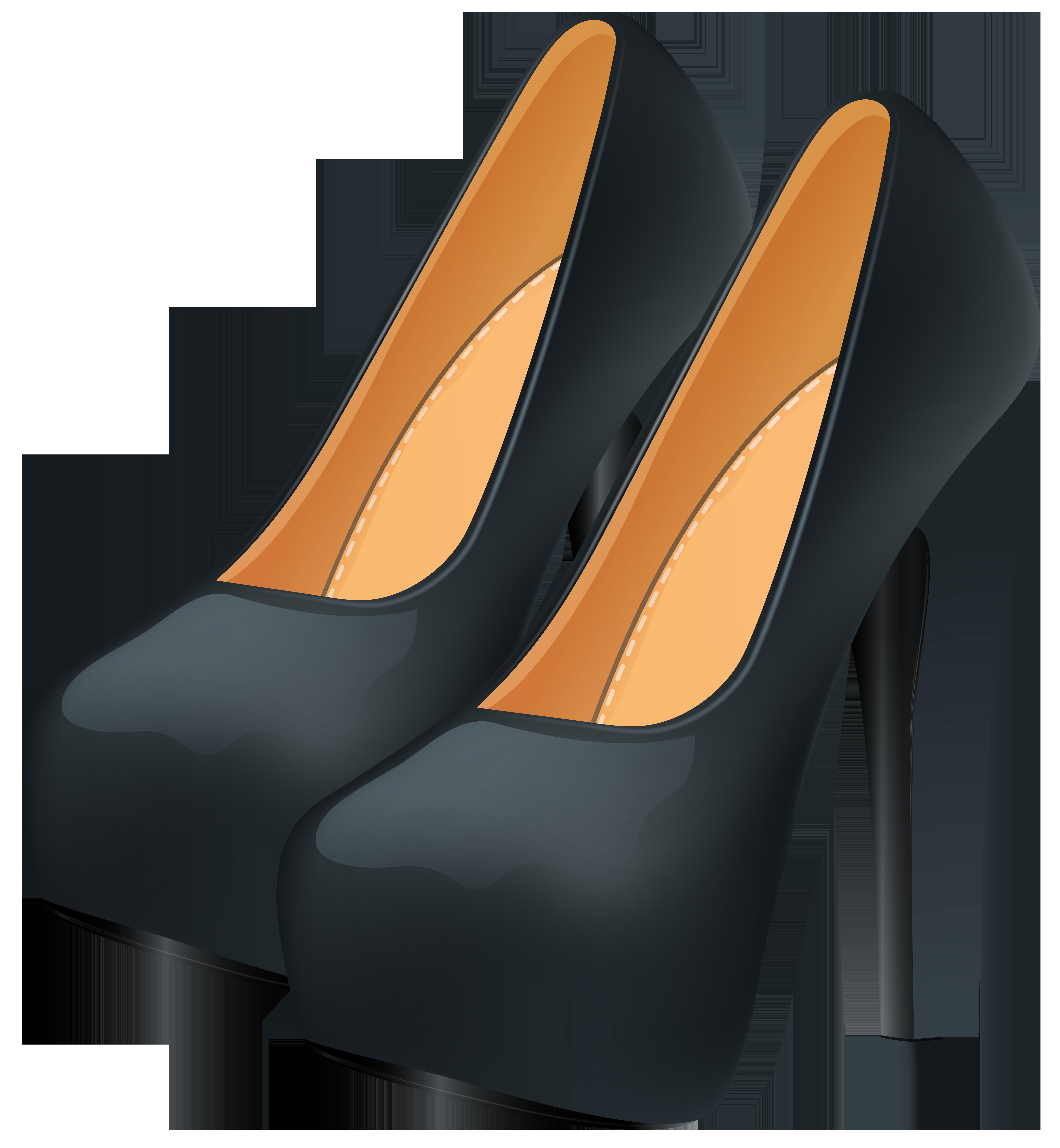 Heels clipart logo. Black png clip art