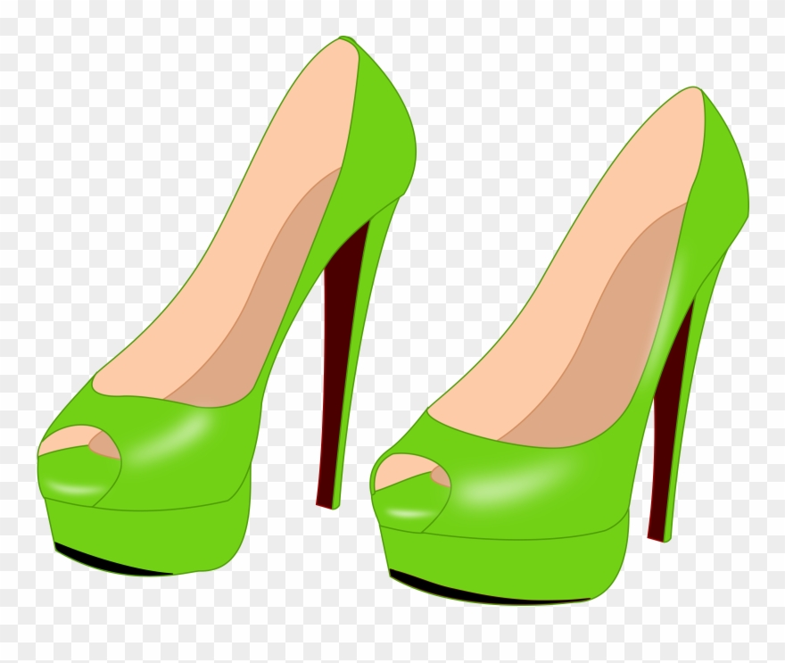 High heeled drawing computer. Heels clipart draw shoe
