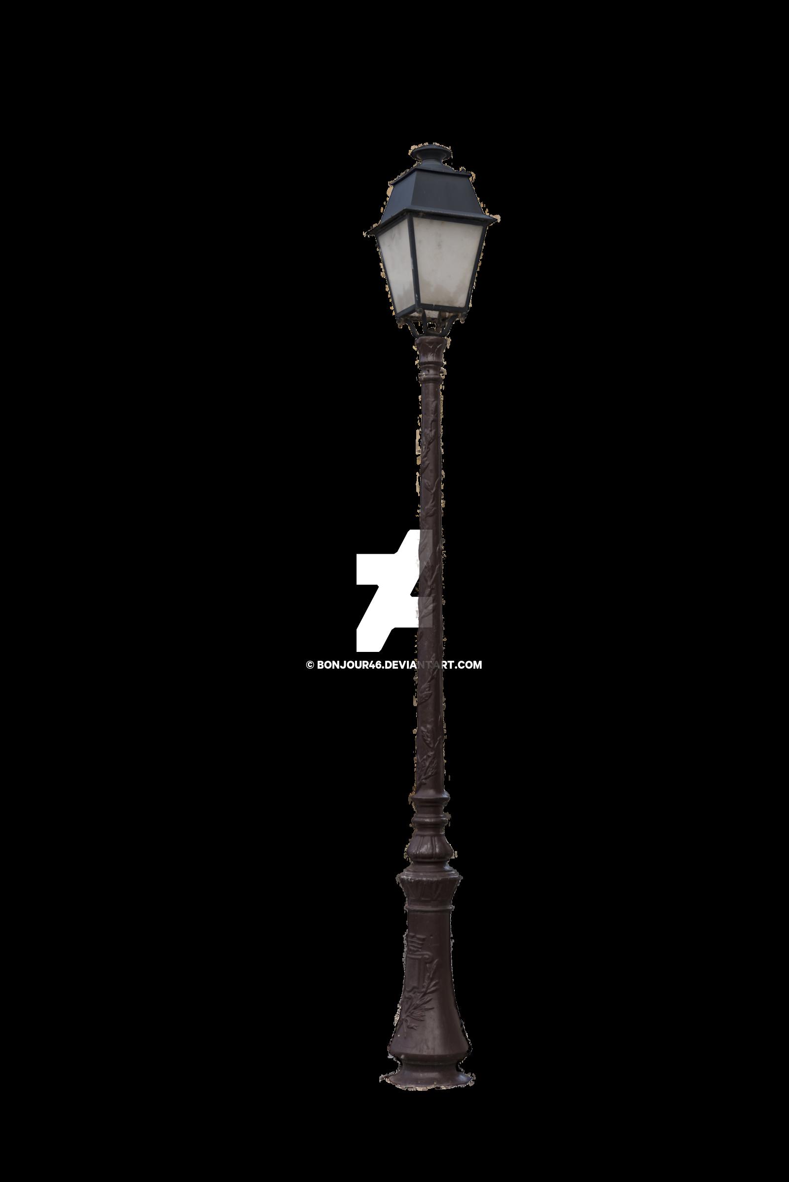 paris clipart lamp post