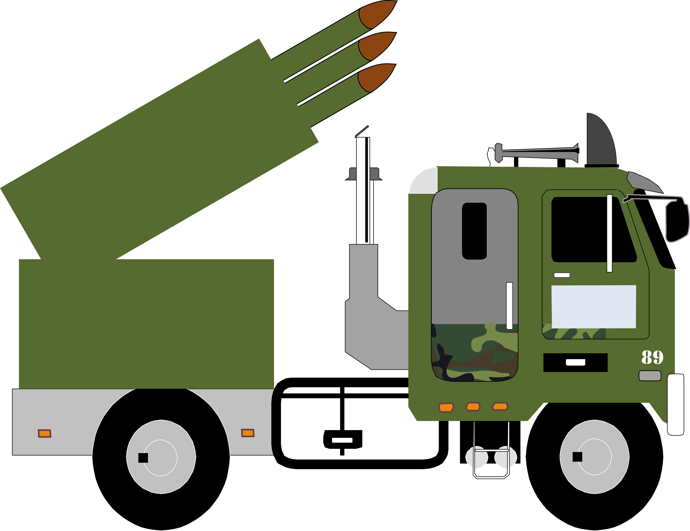 Missile v big image. Military clipart military truck