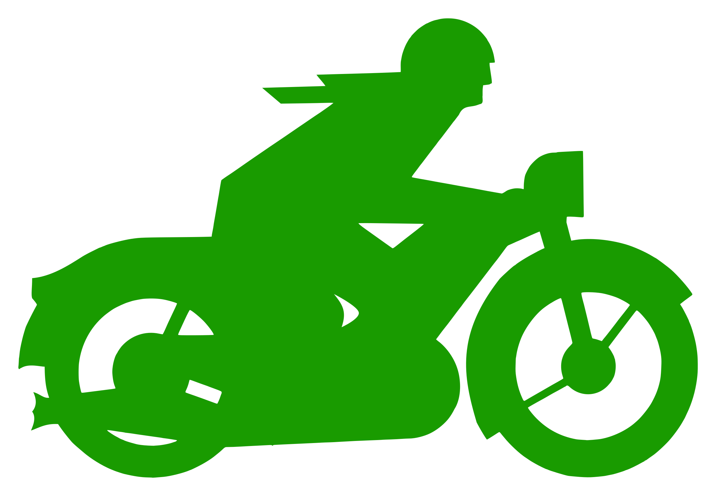 Green clipart motorbike. Motorbiker big image png