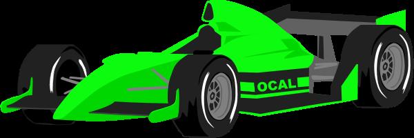 Race clipart motorsport. Green car clipartfest cliparting