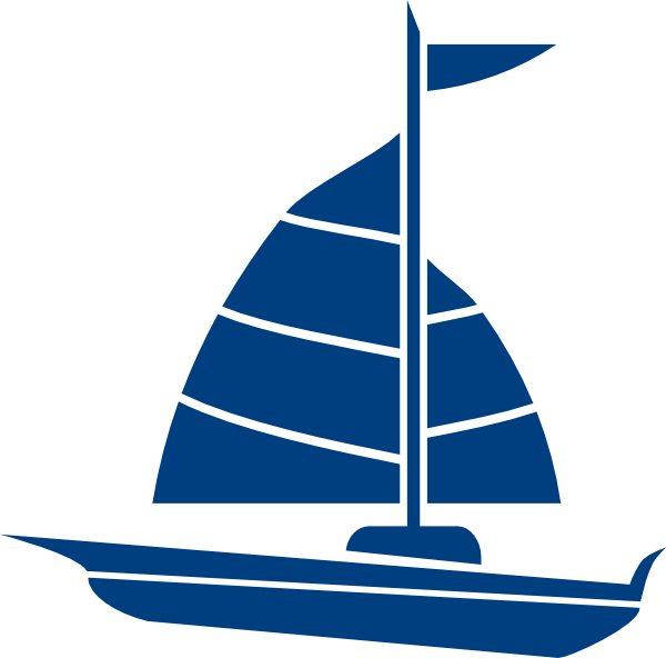 green clipart sailboat
