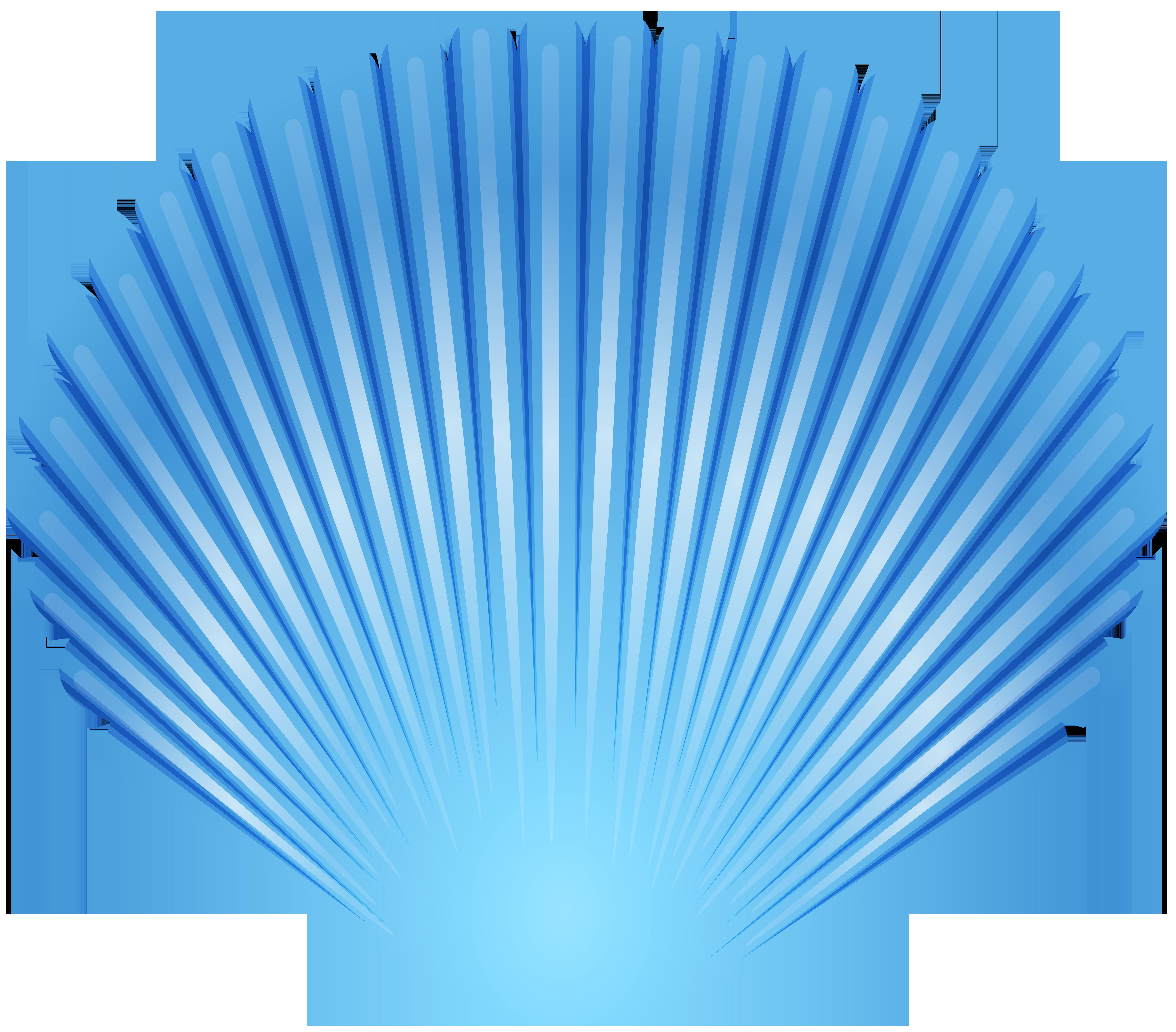Blue seashell transparent png. Seashells clipart green