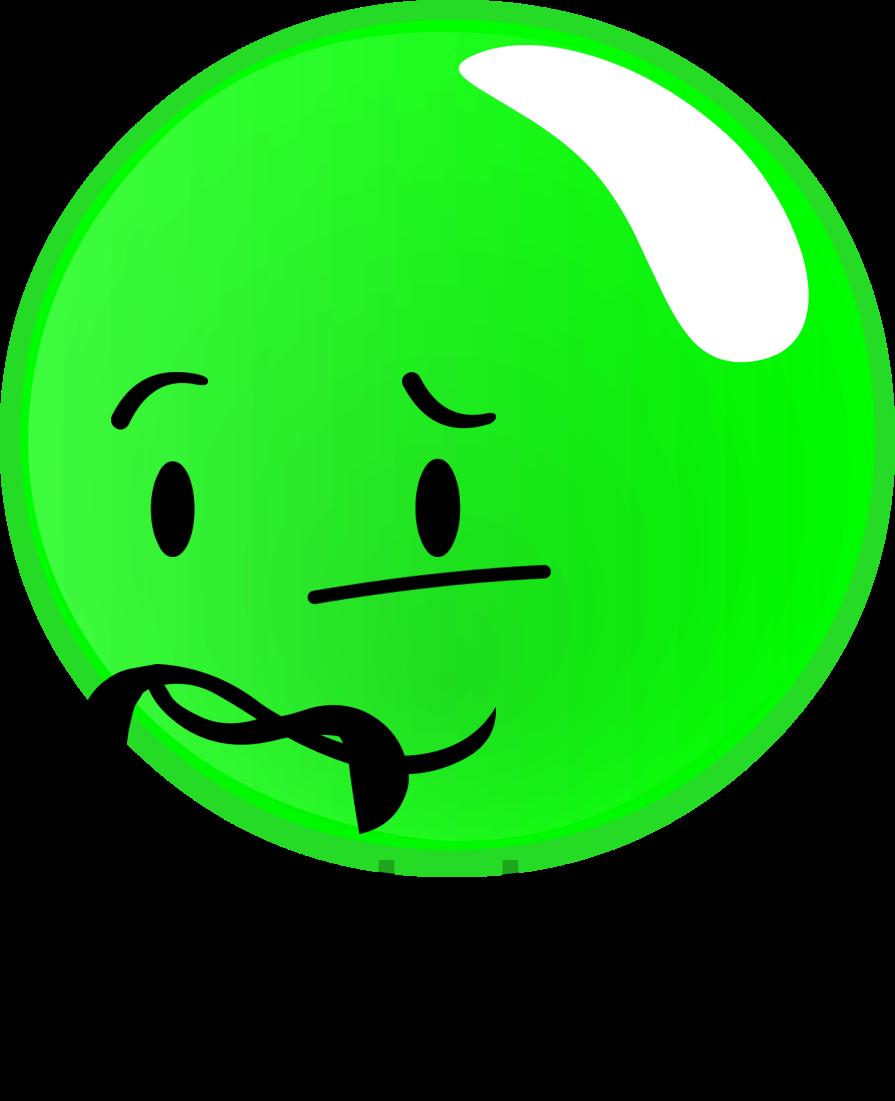 green clipart snot