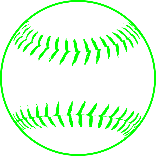 Softball clipart tail. Green clip art at