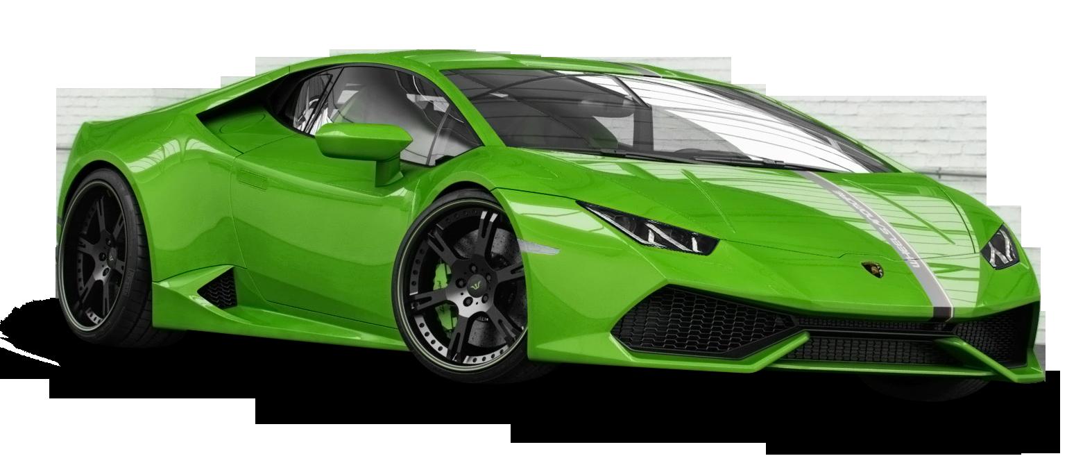 Lamborghini huracan png image. Green clipart sports car