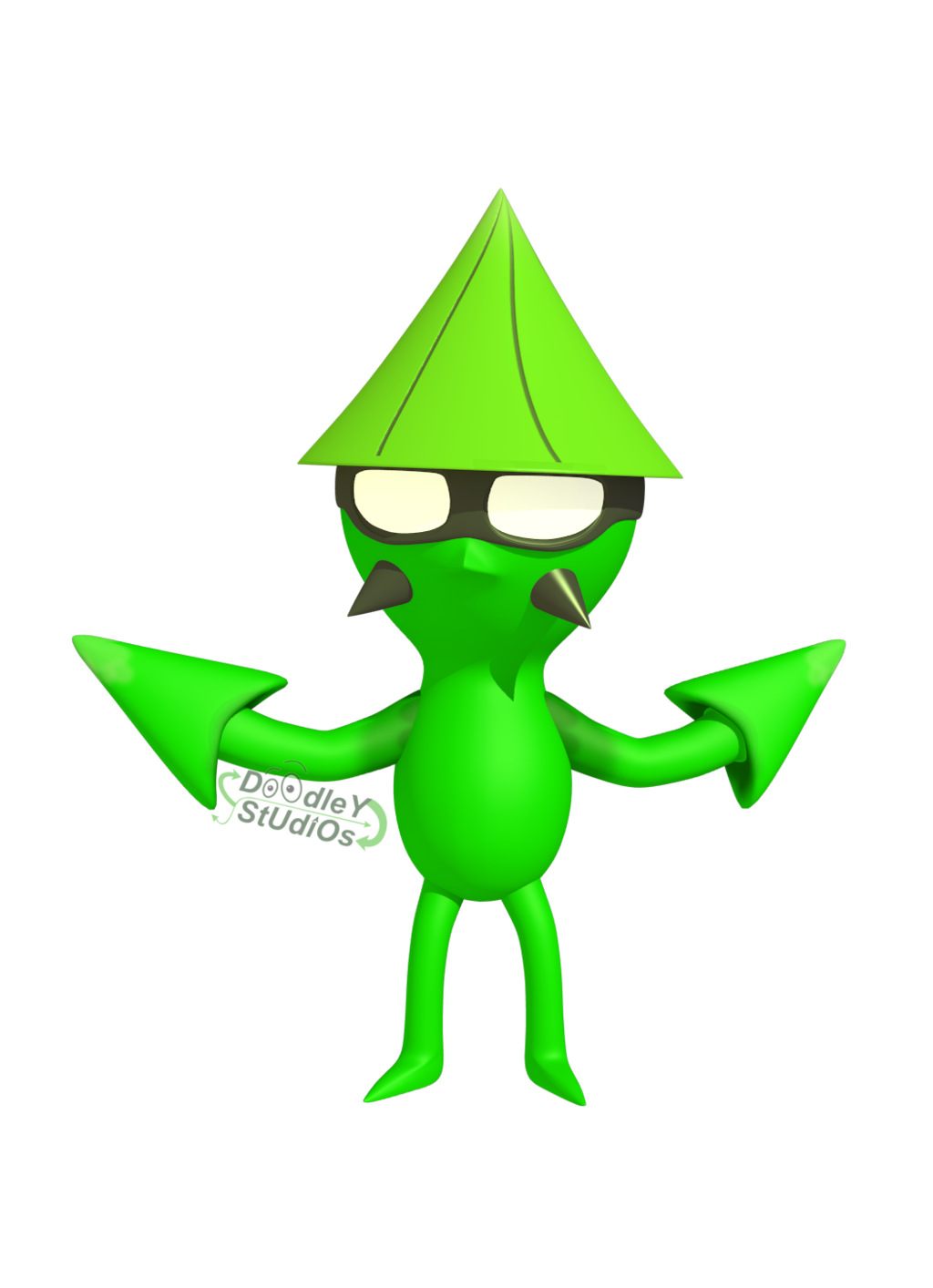 The doodler mascot for. Green clipart squid