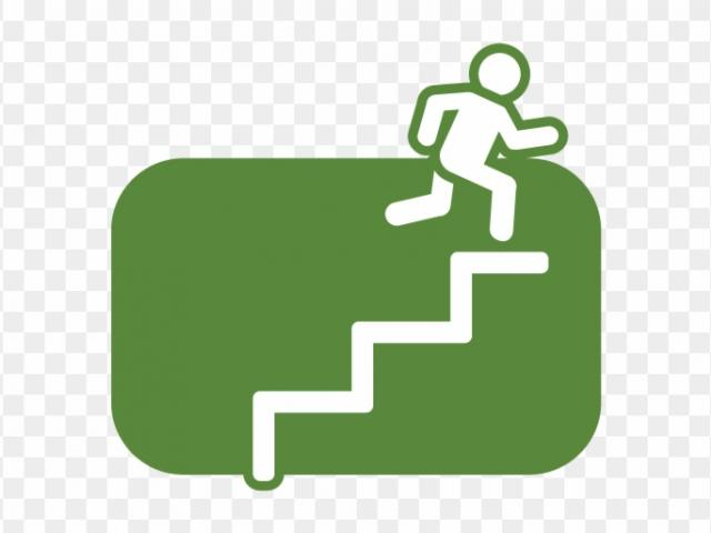 staircase clipart 3 step