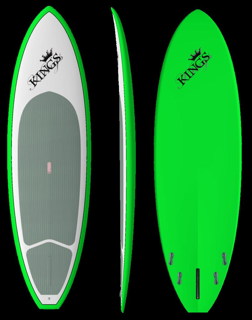 Green clipart surfboard. King s crossover model