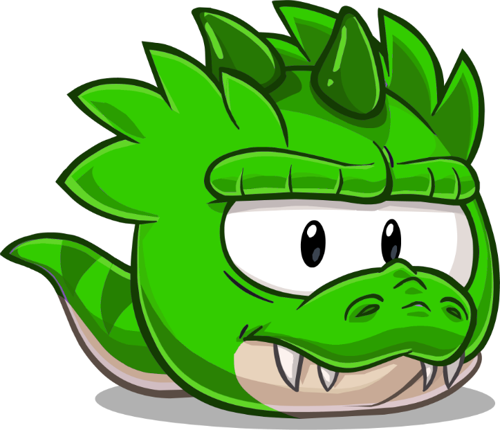 Green clipart t rex. Image puffle png pixie
