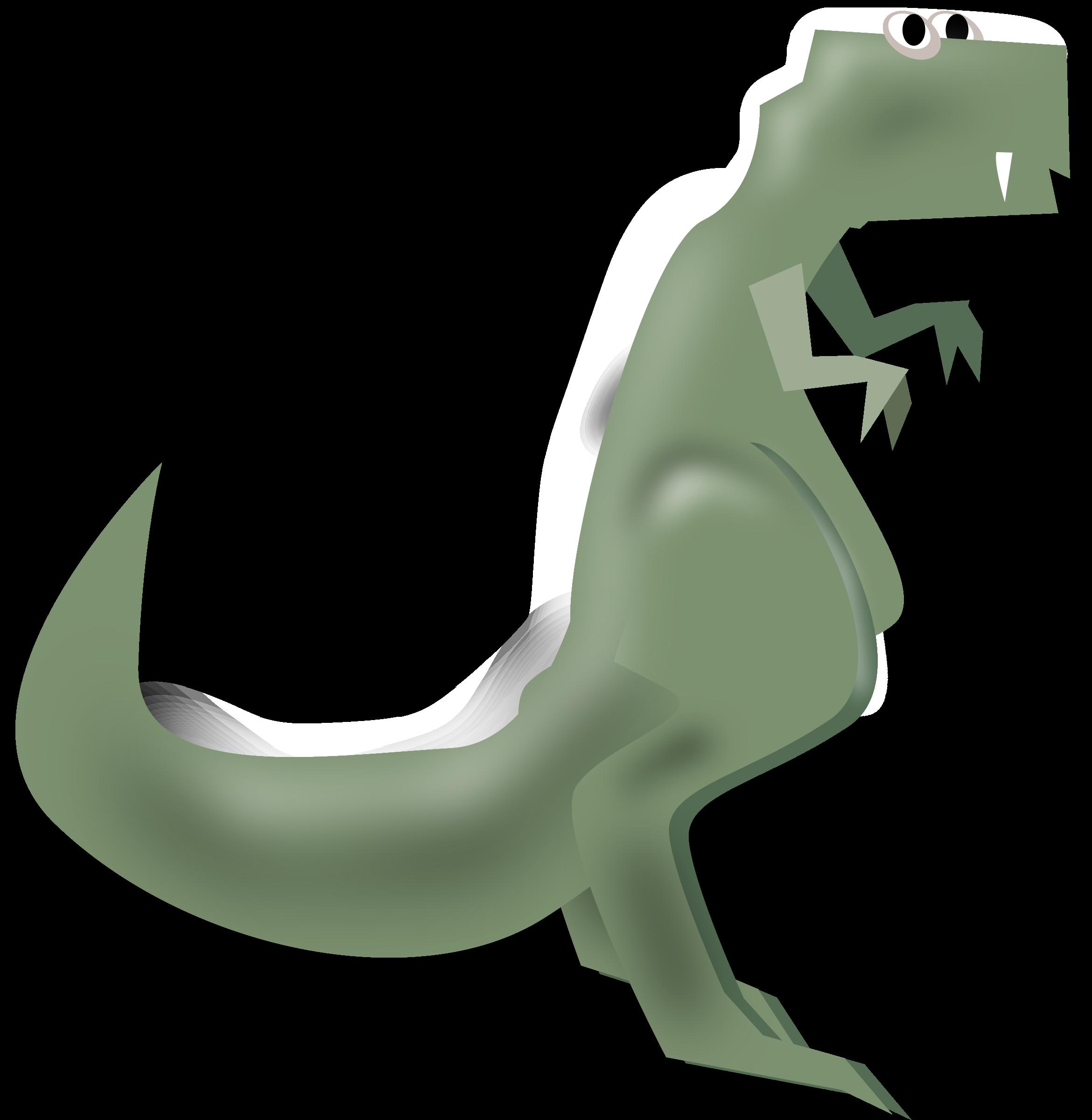 Big image png. Green clipart t rex