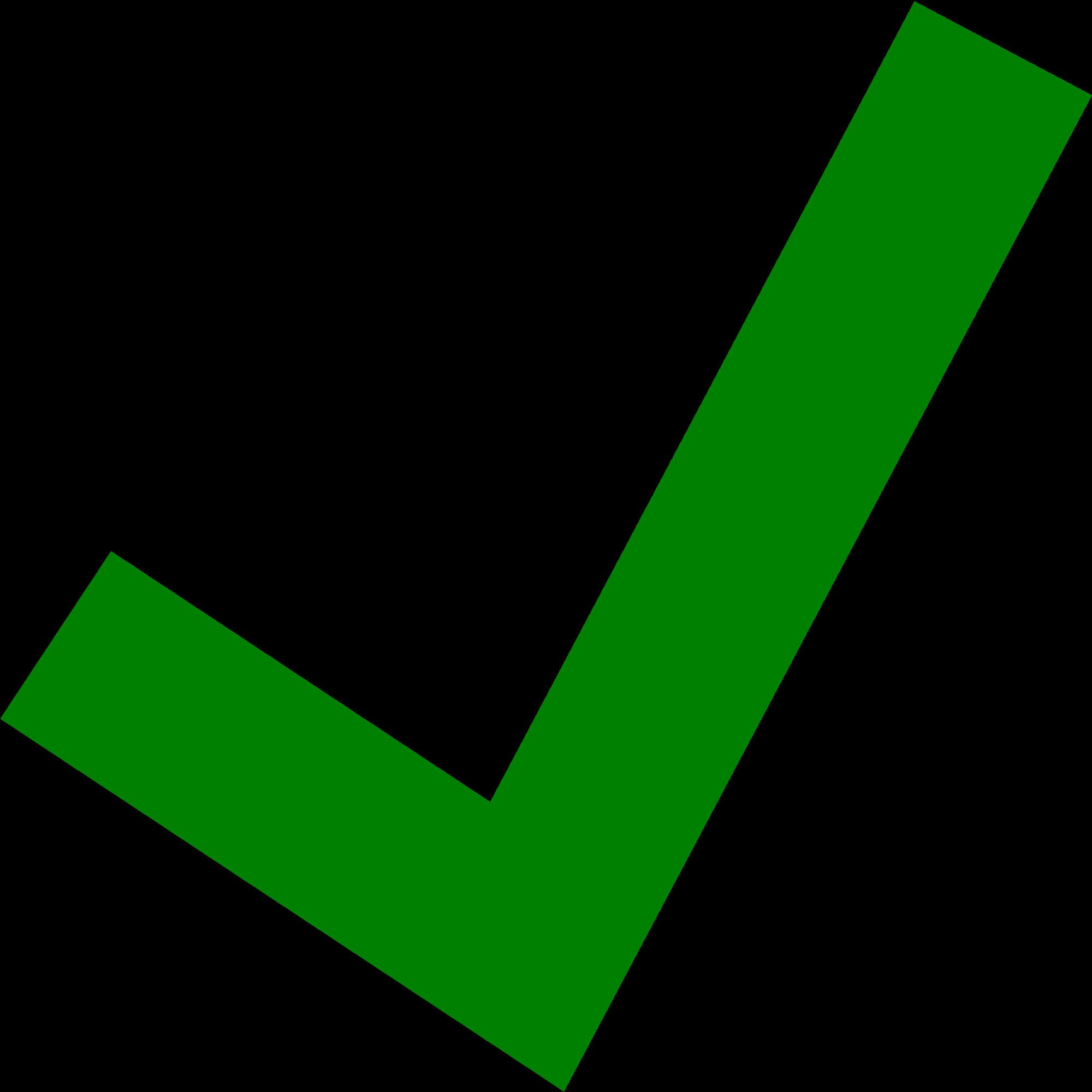 green clipart ticks