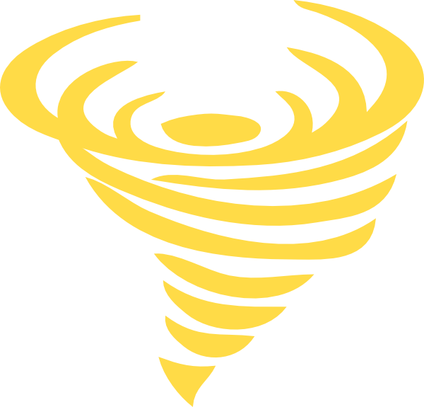 Gold clip art at. Green clipart tornado