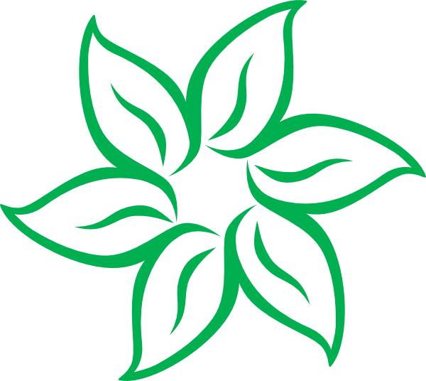 for free download. Green flower png