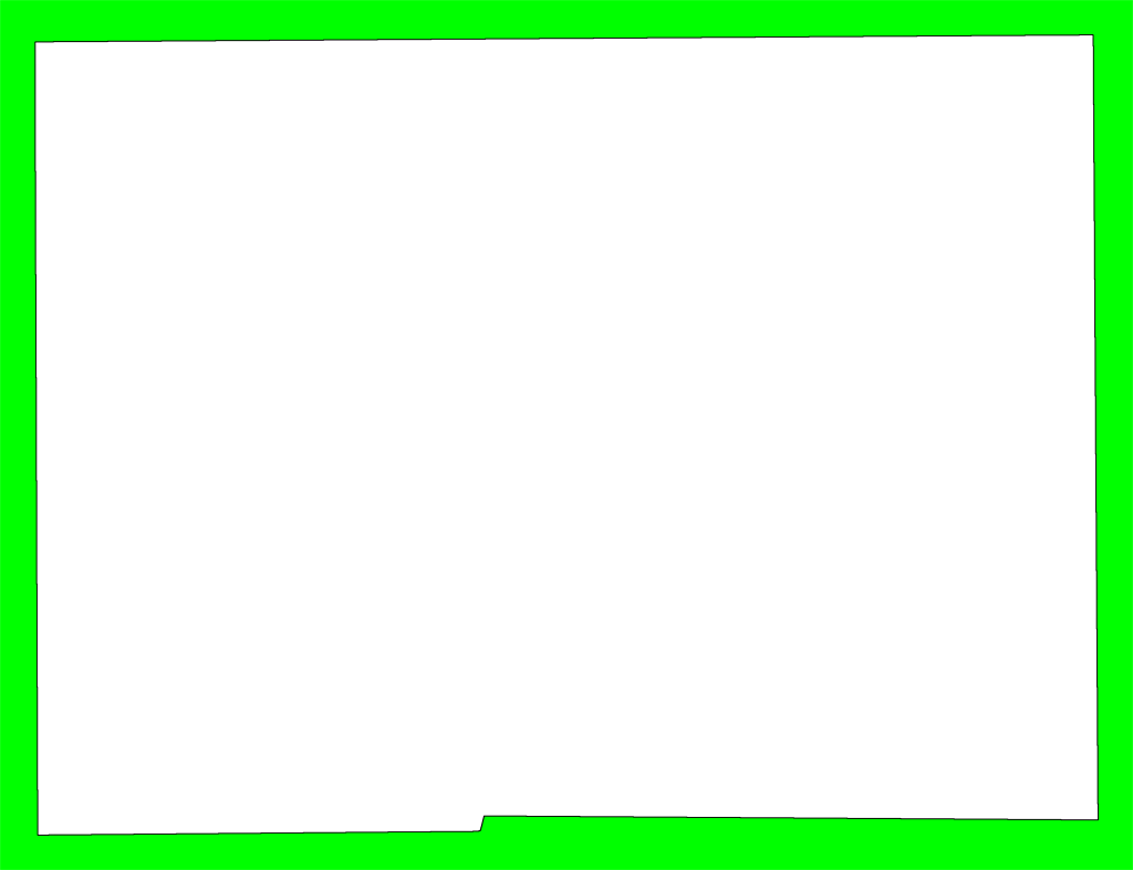 Lime border free download. Green frame png