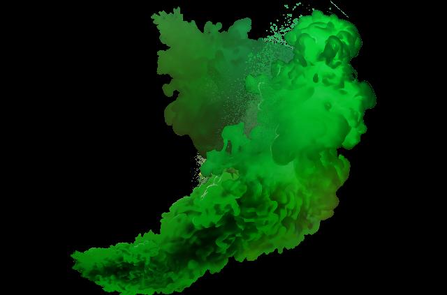 Download image arts. Green smoke png