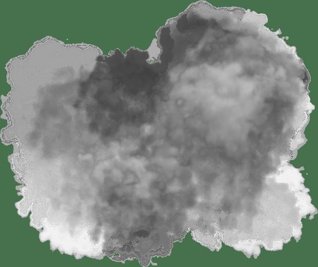 Grey smoke png. Large cloud transparent stickpng