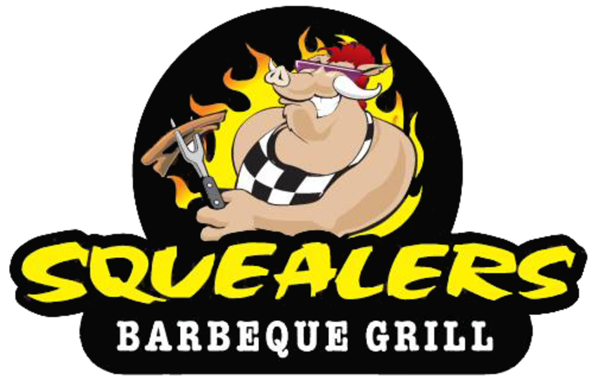 Grilling clipart bbq lunch. Squealers barbeque delivery w