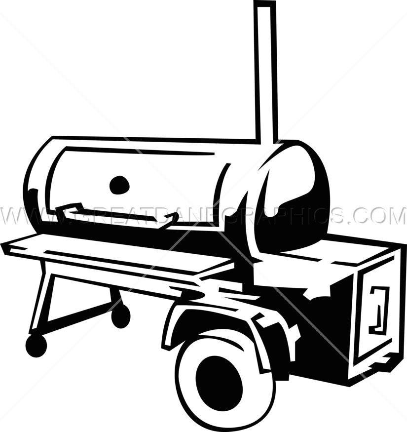 Smoke frames illustrations hd. Grilling clipart bbq smoker