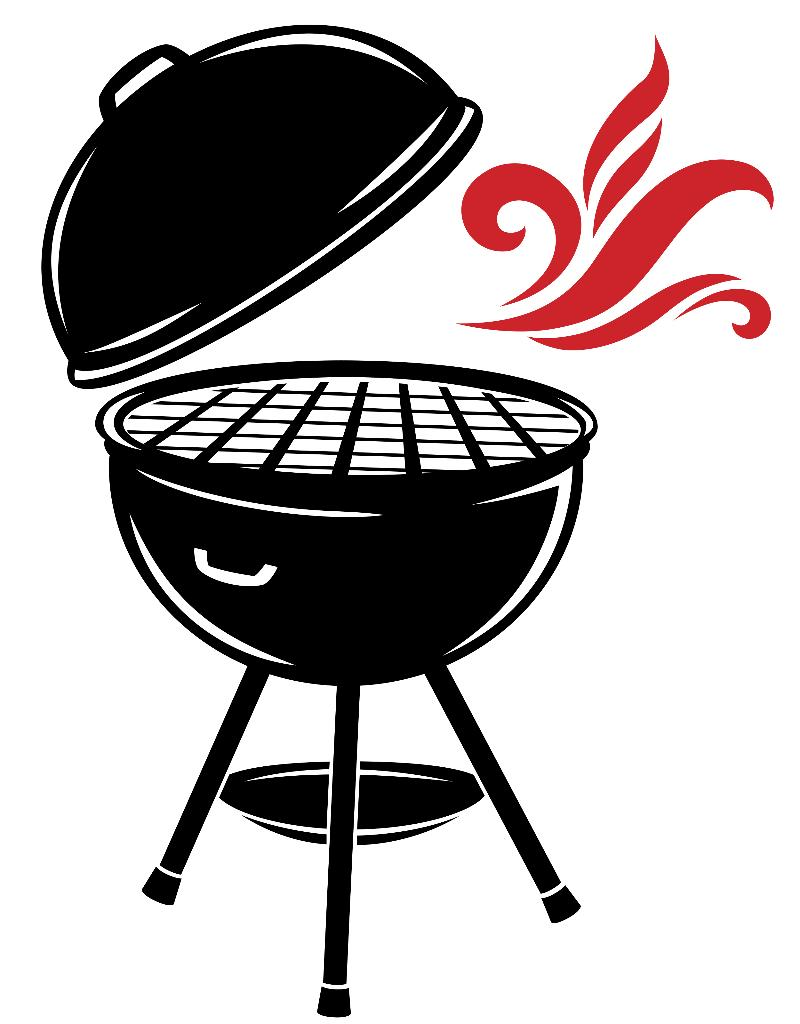 Free smoker grill cliparts. Grilling clipart barbecue