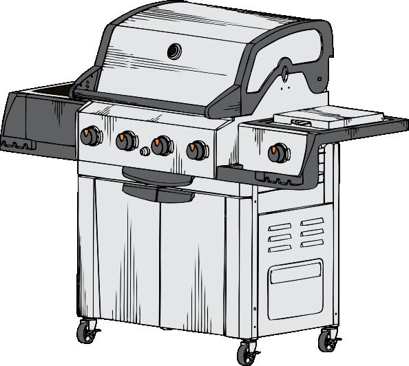 Grill clip art at. Grilling clipart grillclip