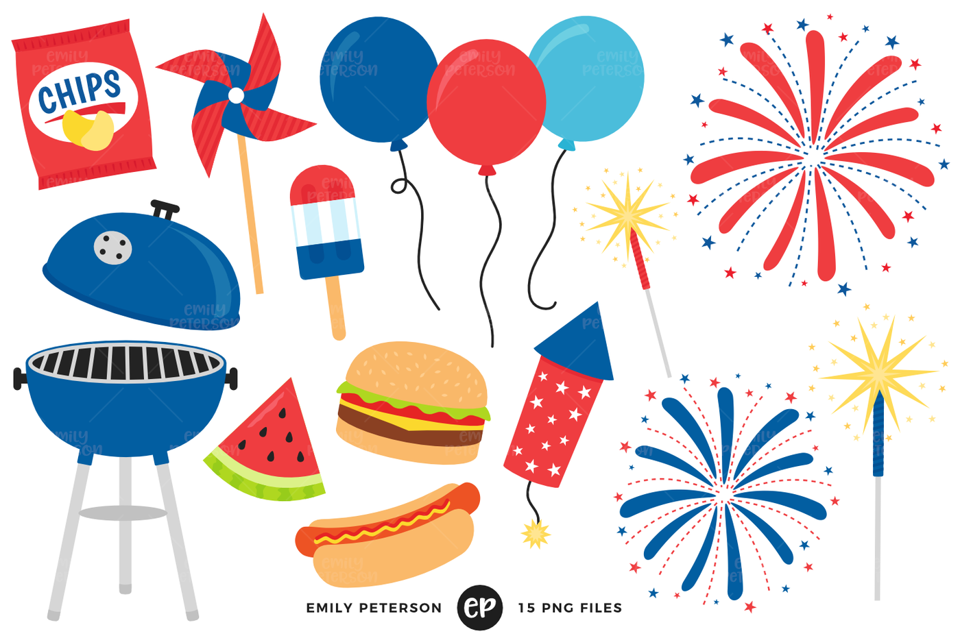 Grill clipart fourth july food.  th of bbq