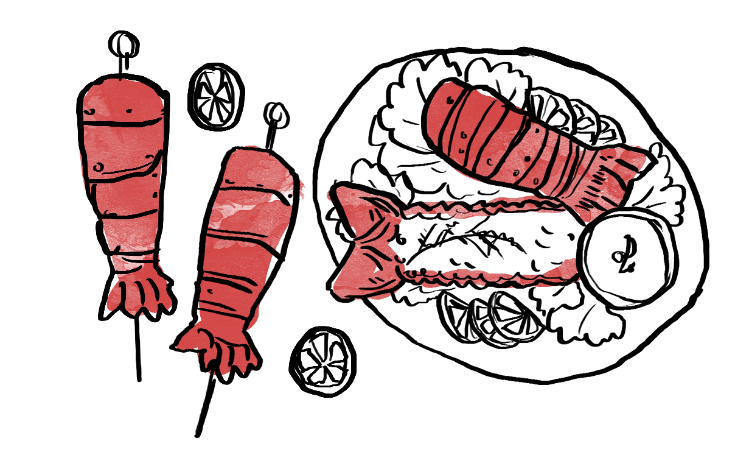 Lobster clipart lobster roll. Cooking tails learn how