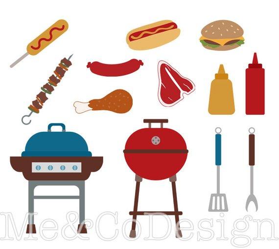 Grill clipart hot object. Bbq fun happy barbecue