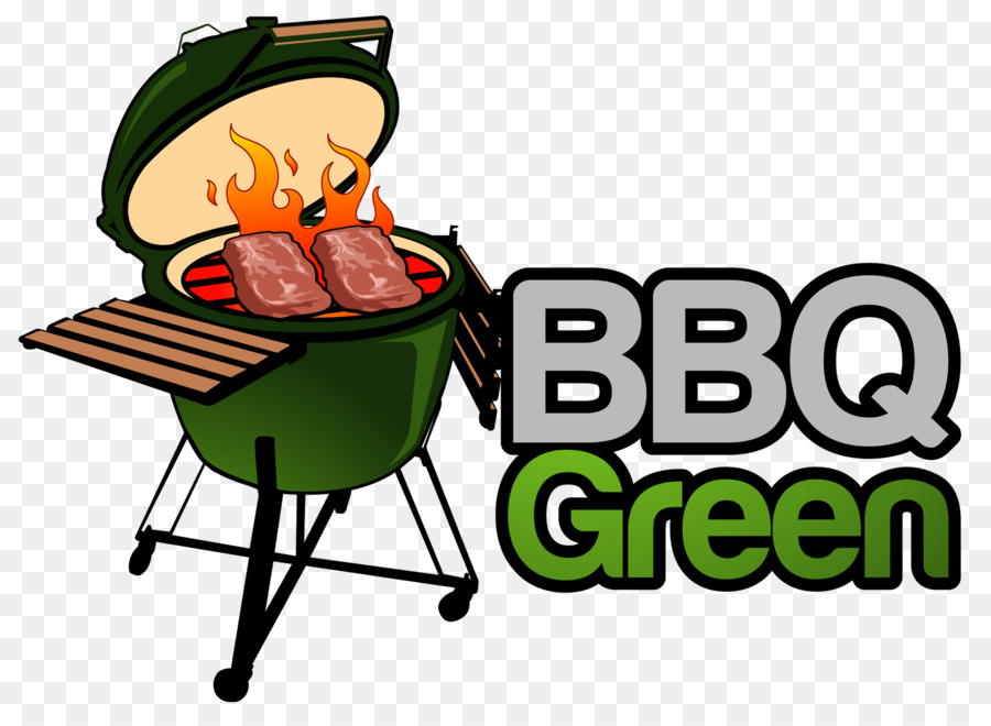 Cartoon barbecue cooking food. Grill clipart kitchen