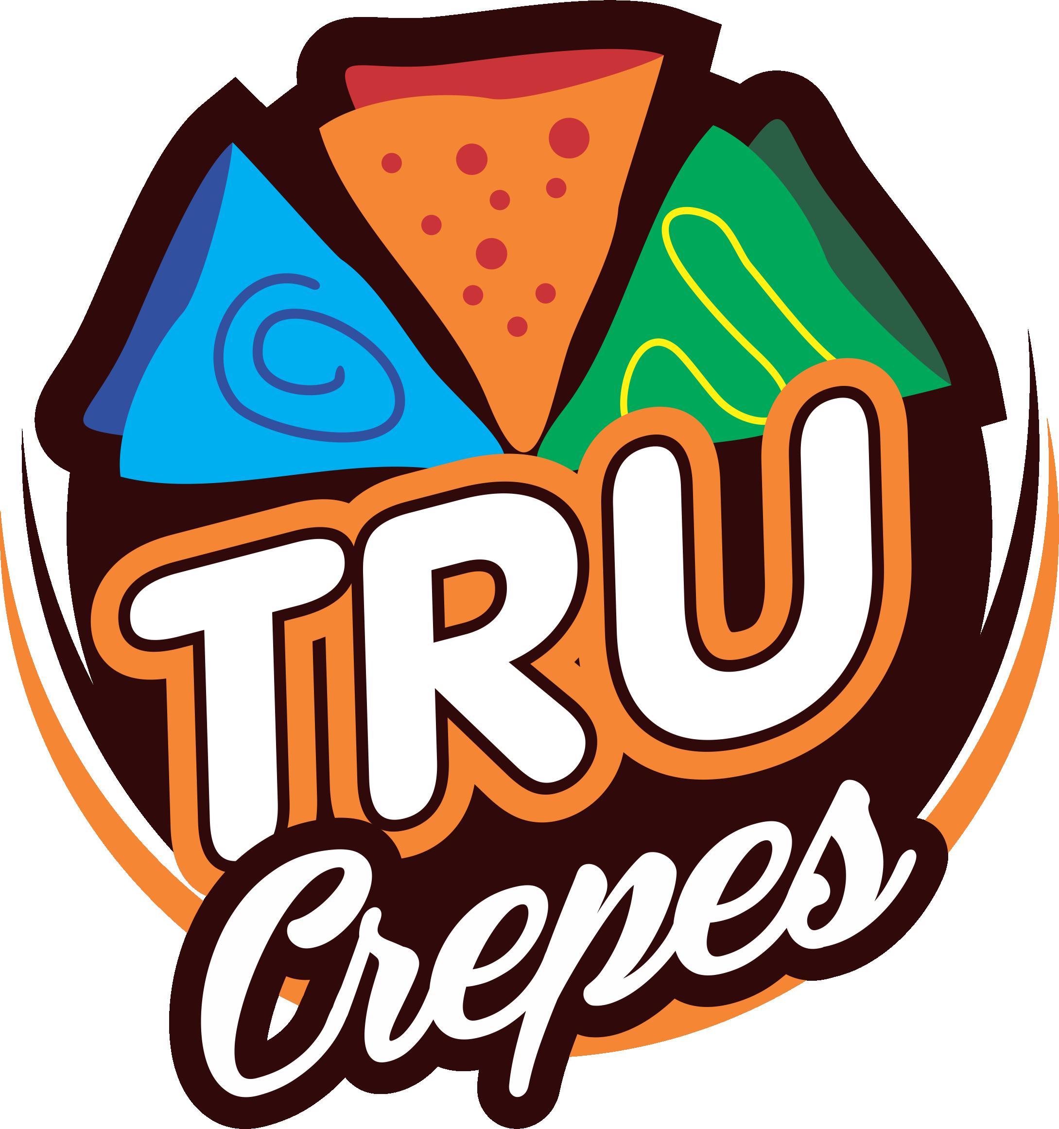 Logo tru crepes by. Pancake clipart men's breakfast