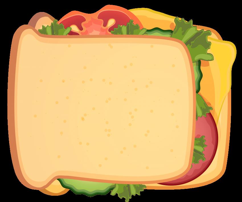Sandwich triangle sandwich