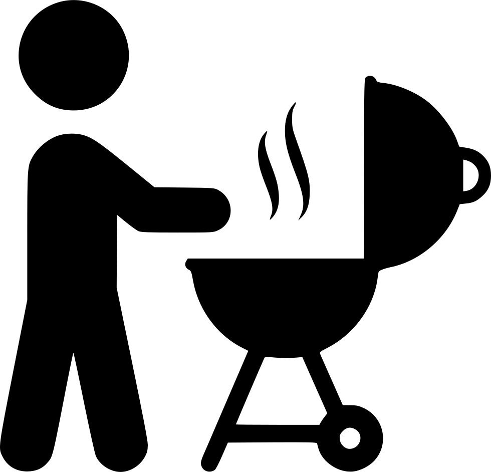 Barbecue sauce tailgate party. Stamp clipart bbq