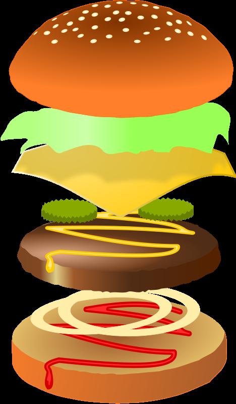 hamburger clipart jpeg
