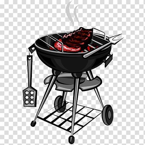 Free download black kettle. Grilling clipart bbq rib