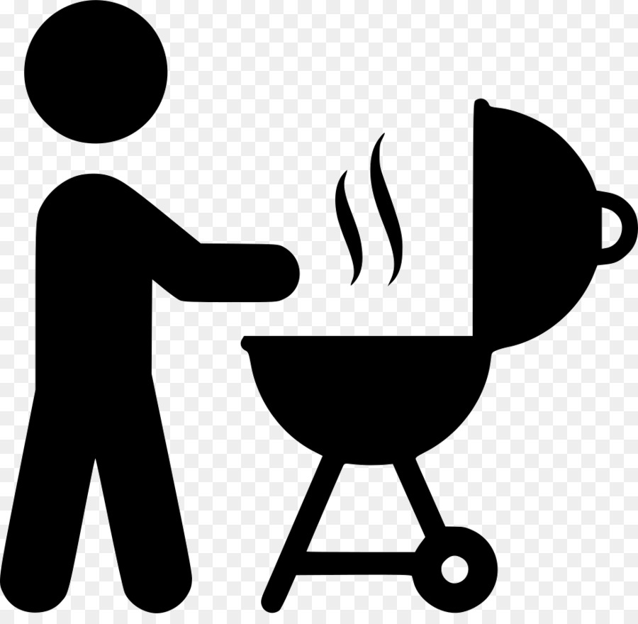 Food cartoon barbecue black. Grilling clipart braai